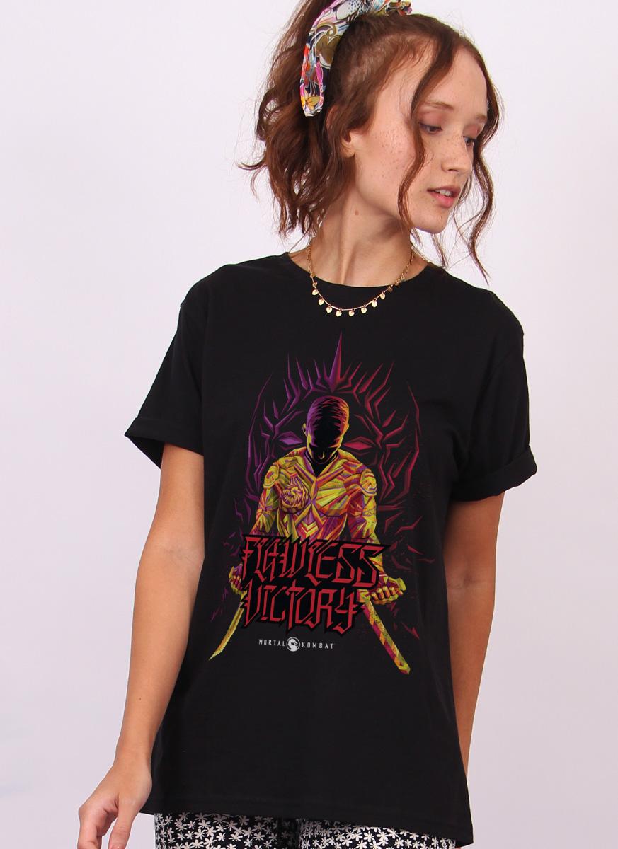 T-shirt Mortal Kombat Vitória Perfeita