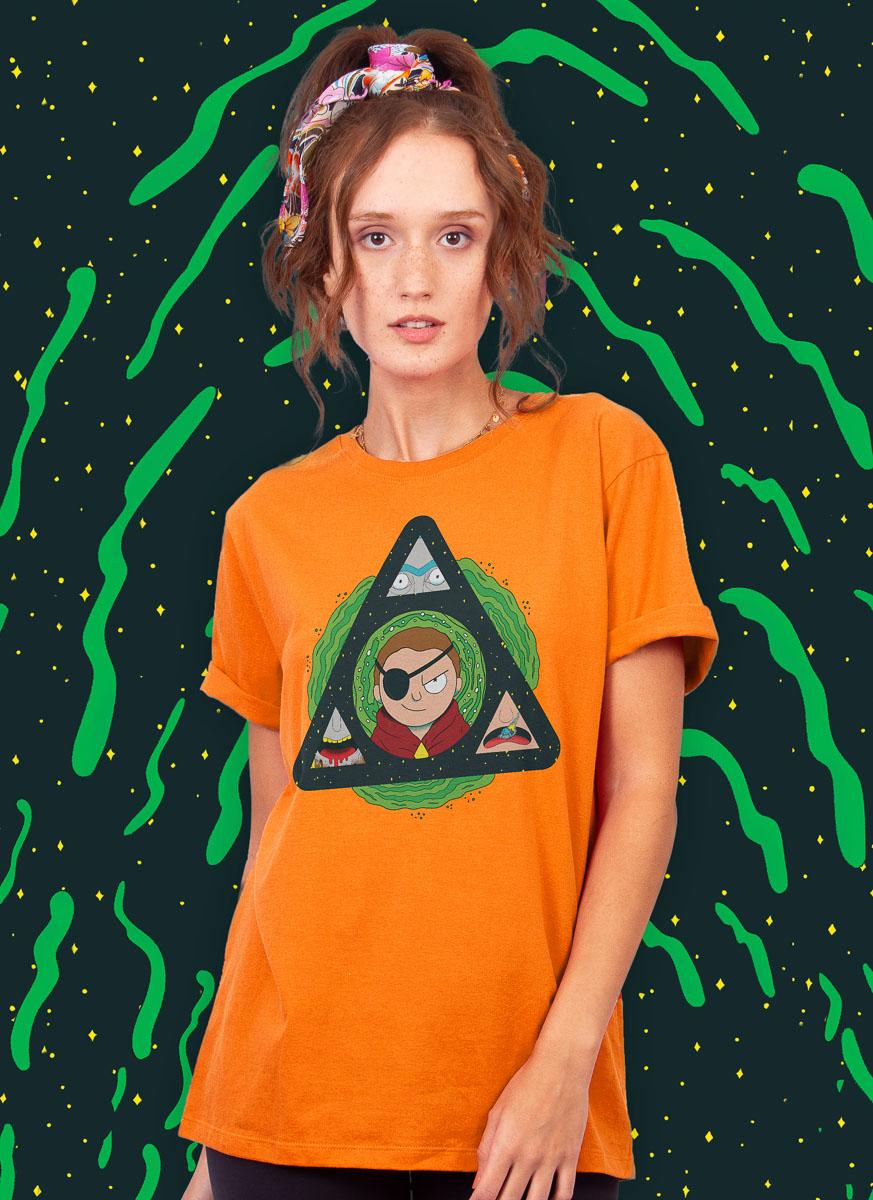 T-shirt Rick And Morty Do Mal