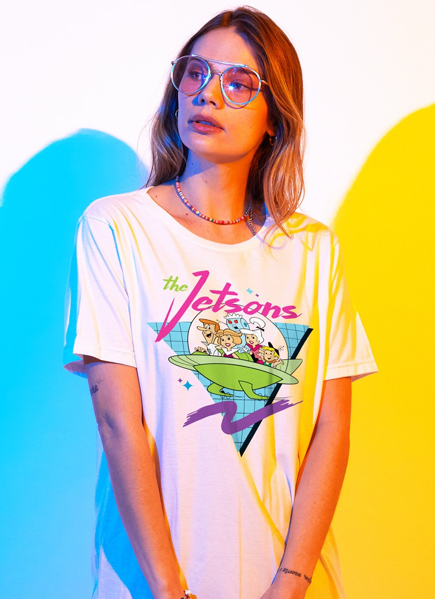 T-shirt Os Jetsons Nave Pop