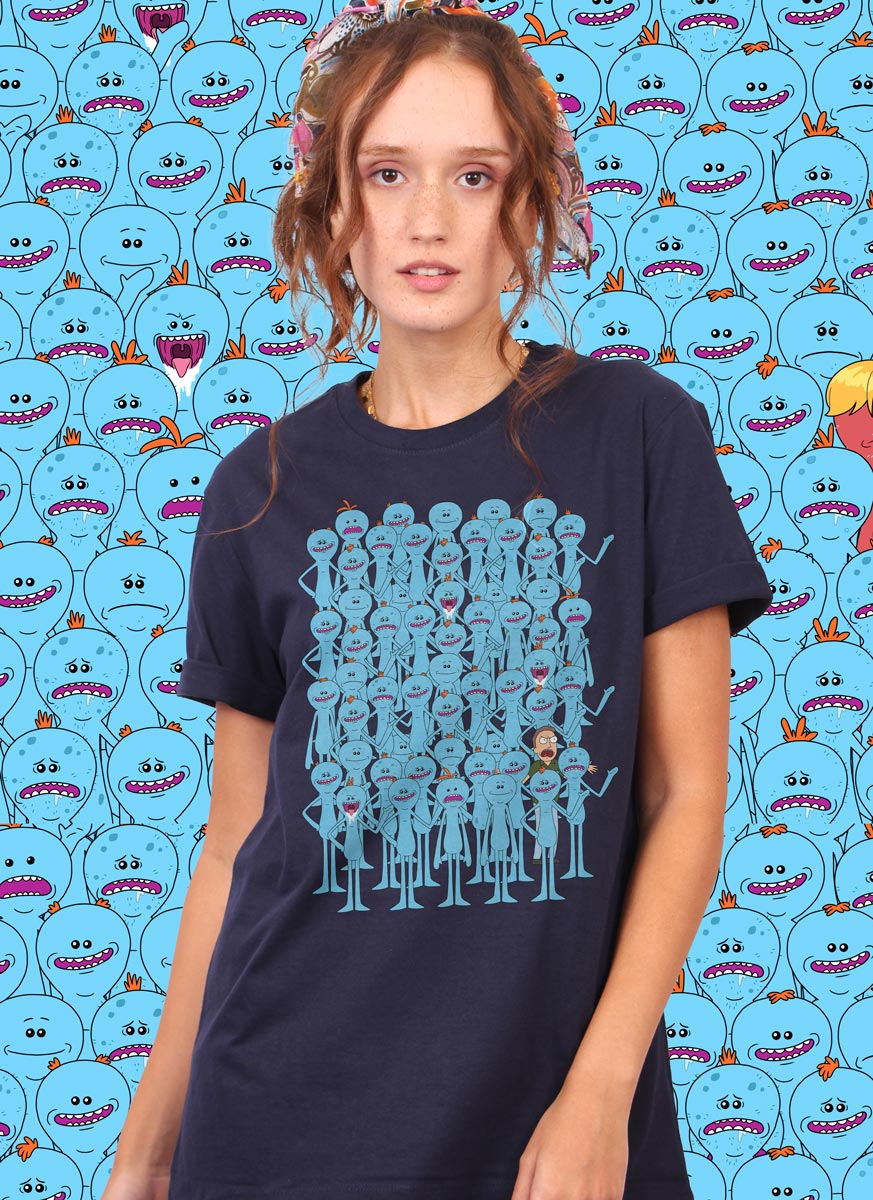 T-shirt Rick and Morty Meeseeks