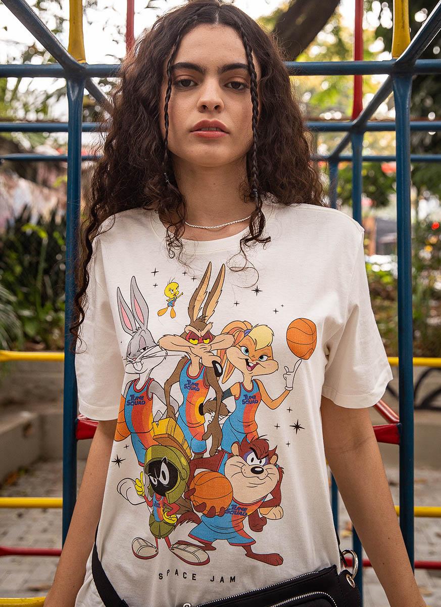 T-shirt Space Jam Stars