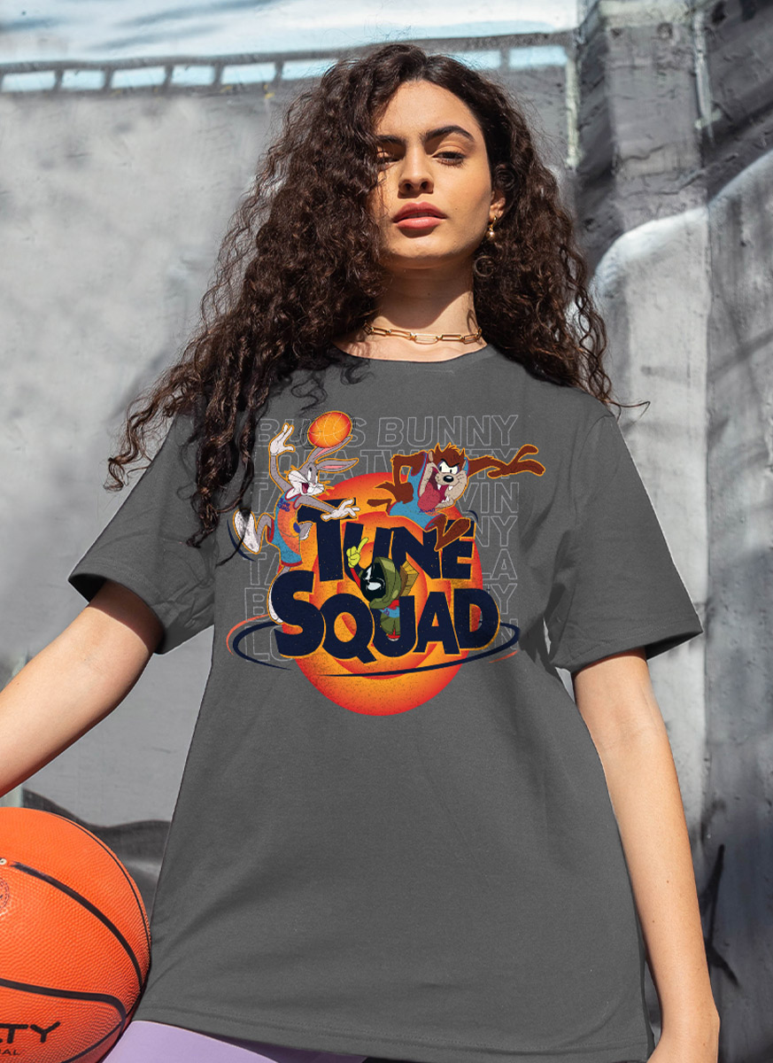 T-shirt Space Jam Tune Squad Colors