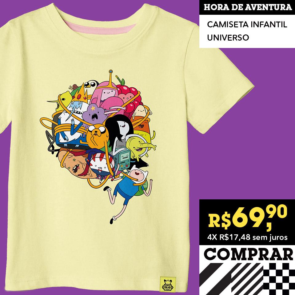 hora da aventura - camiseta bmo