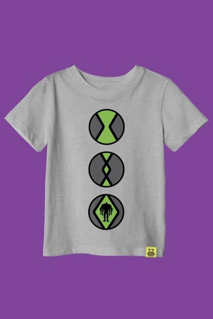 Camiseta Ben 10 Transformação