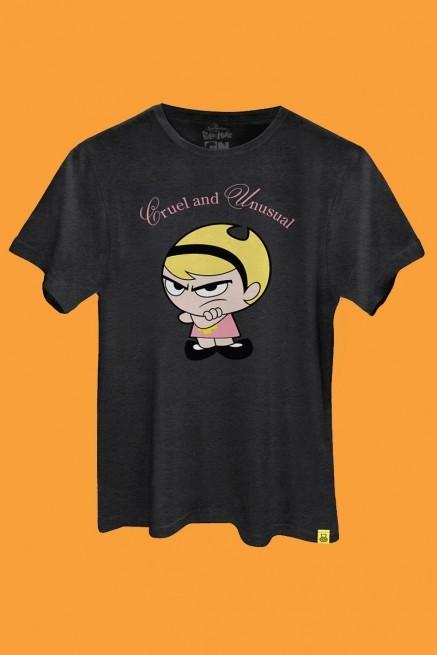 Camiseta Billy e Mandy Cruel and Unusual