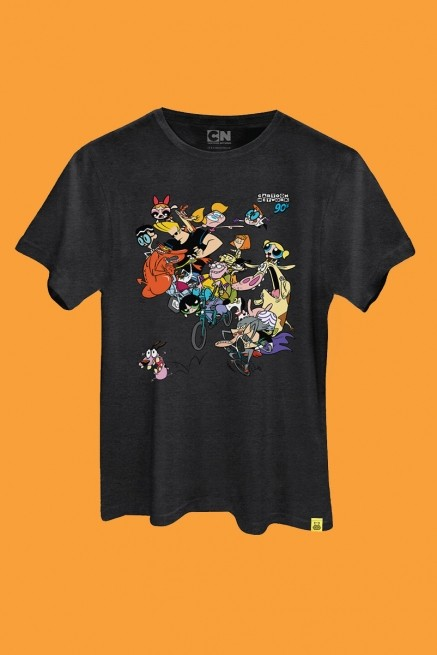 Camiseta Cartoon 90 Bike