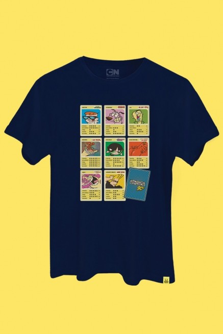 Camiseta Cartoon 90 Cards