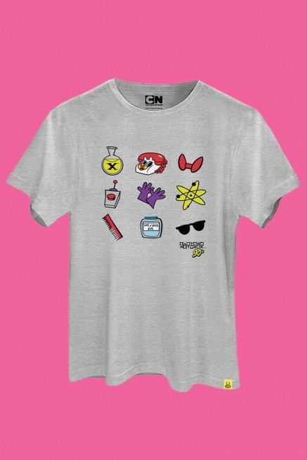 Camiseta Cartoon 90 Ícones