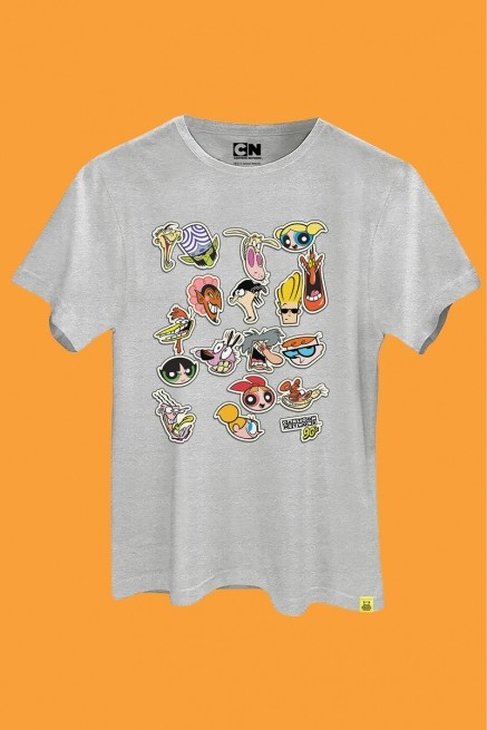 Camiseta Cartoon 90 Stickers