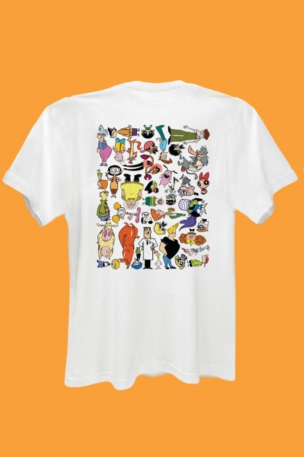 Camiseta Cartoon 90 Universo