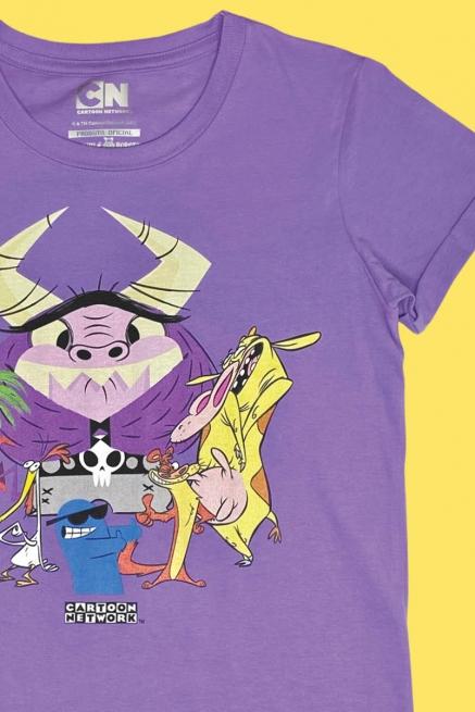 Camiseta Cartoon Bovinos, Aves e Maneiros