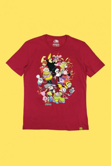 Camiseta Clássicos Cartoon Abraço