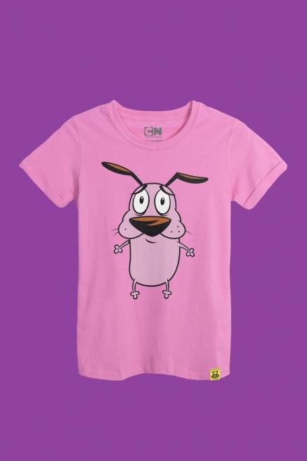 Camiseta Coragem, O Cão Covarde