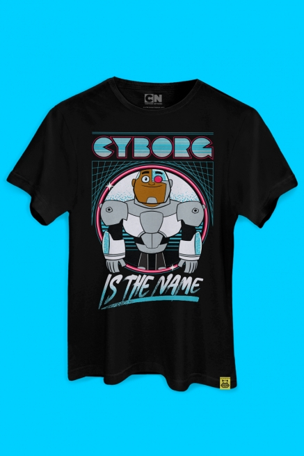 Camiseta Ciborgue Is The Name