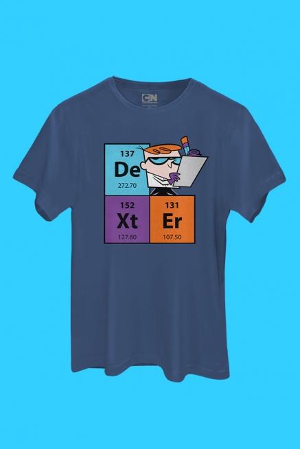 Camiseta Dexter Tabela Periódica