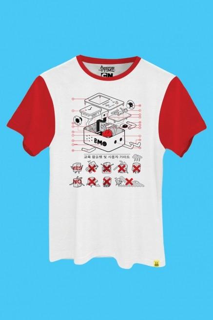 Camiseta Hora de Aventura BMO