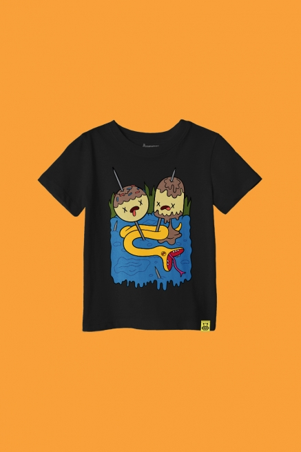 Camiseta Infantil Hora de Aventura Camiseta Favorita Princesa Jujuba