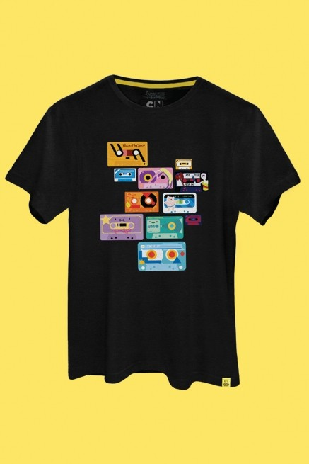 Camiseta Hora de Aventura Fitas