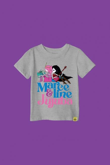 Camiseta Infantil Hora de Aventura Jujubline