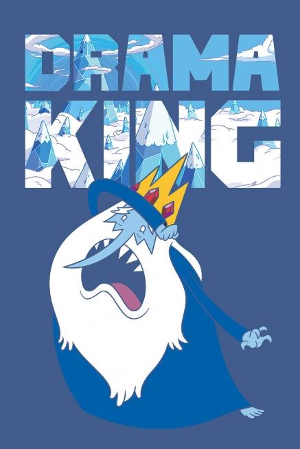 Camiseta Hora de Aventura Rei Gelado