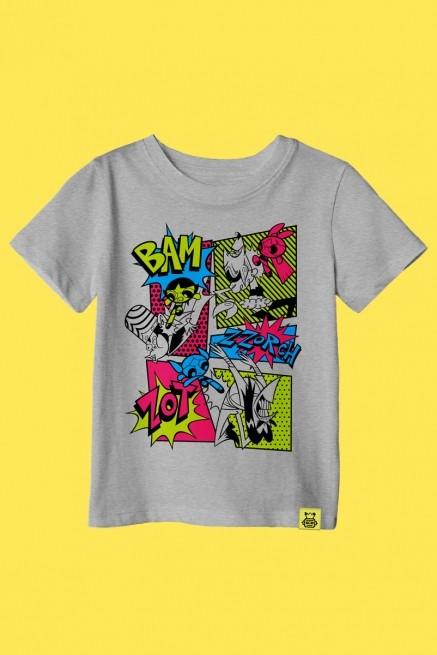 Camiseta Infantil As Meninas Superpoderoas Em Ação