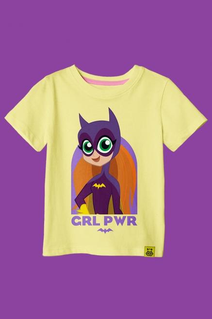 Camiseta Infantil Batgirl Poderosa