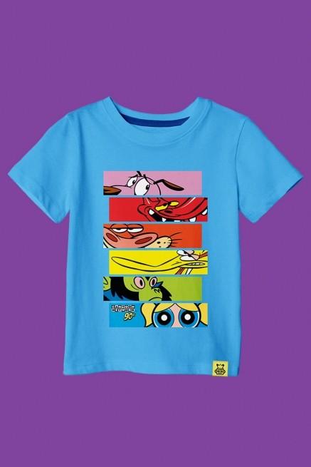 Camiseta Infantil Cartoon 90 Olhos