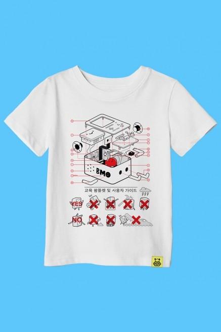 Camiseta Infantil Hora de Aventura BMO