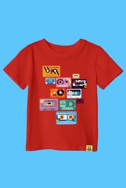 Camiseta Infantil Hora de Aventura Fitas