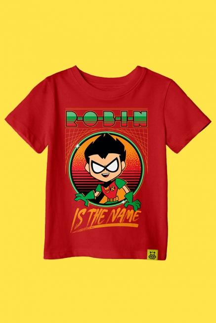 Camiseta Infantil Robin Is The Name