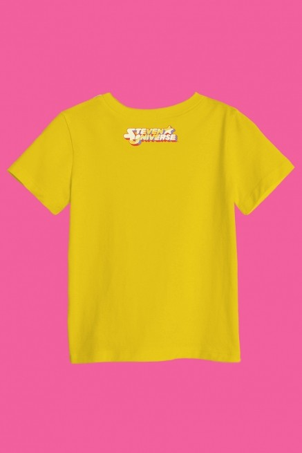 Camiseta Infantil Steven Universo Crystal Gems
