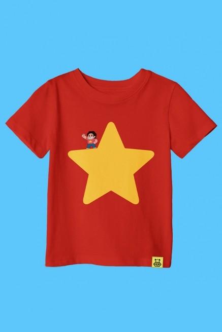 Camiseta Infantil Steven Universo Estrela