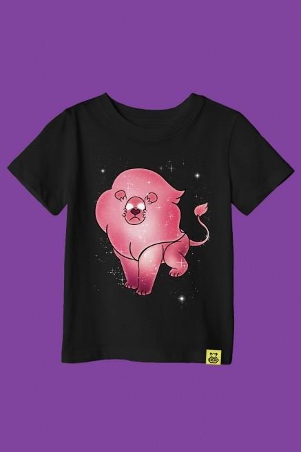 Camiseta Infantil Steven Universo Leão