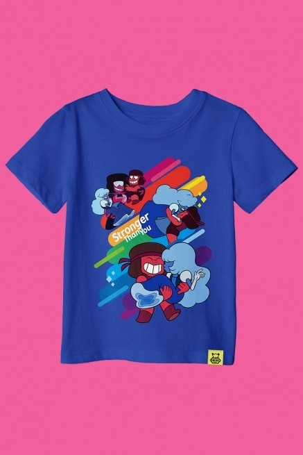 Camiseta Infantil Steven Universo Stronger Than You