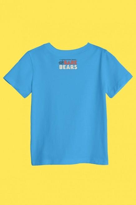 Camiseta Infantil Urso Sem Curso Pardo, Panda e Polar