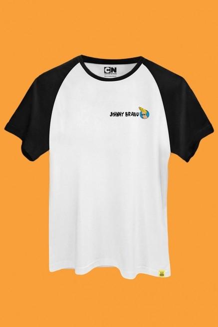 Camiseta Raglan Johnny Bravo Pneus