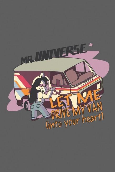 Camiseta Steven Universo Drive my Van
