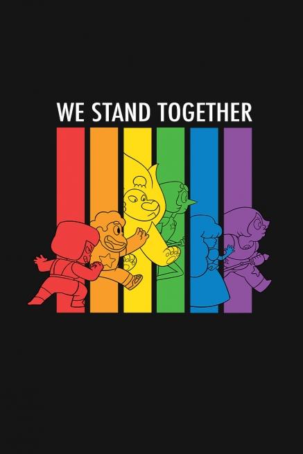 Camiseta Infantil Steven Universo Stand Together