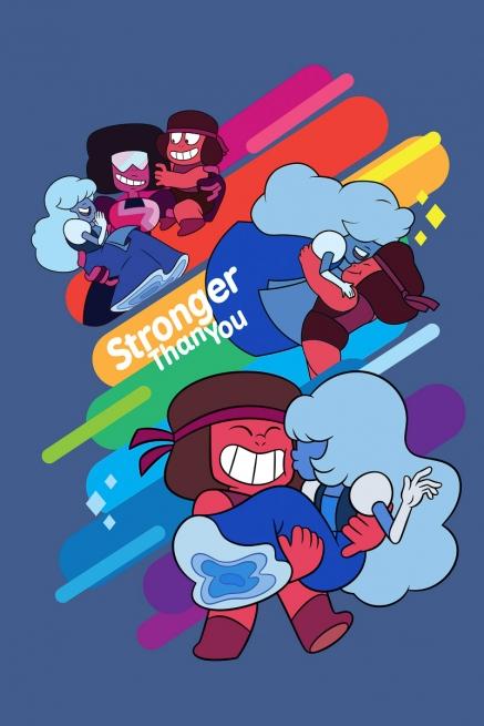 Camiseta Steven Universo Stronger than You