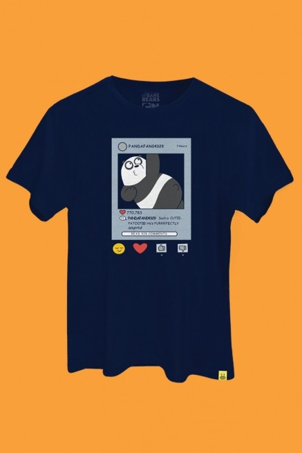 Camiseta Ursos Sem Curso Card