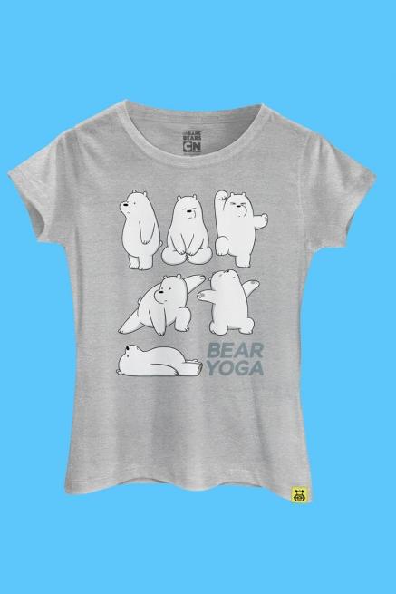 Camiseta Ursos Sem Curso Yoga