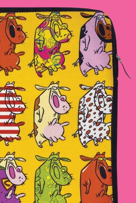 Capa de Notebook A Vaca e o Frango Vaca Parada