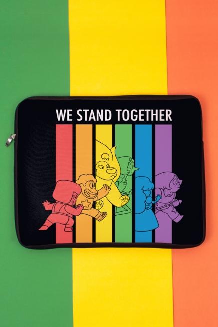 Capa de Notebook Steven Universo Stand Together