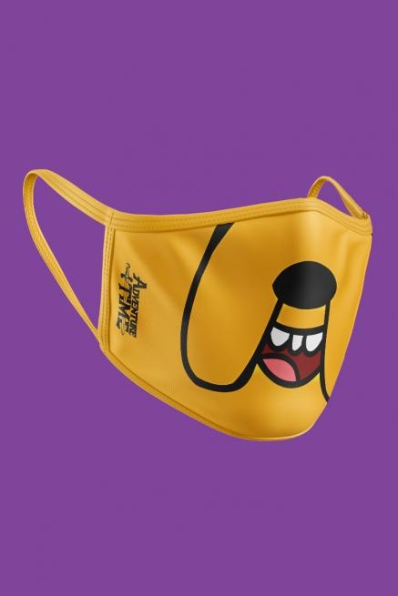 Máscara Hora de Aventura Jake O Cachorro