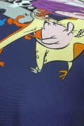 Almofada Cartoon Bovinos, Aves e Maneiros