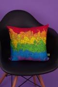 Almofada Hora de Aventura Rainbow