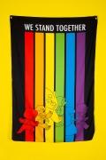 Bandeira de Parede Steven Universo Stand Together