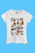 Camiseta Cartoon 90 Stickers