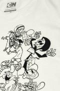 Camiseta Cartoon Pilha de Clássicos