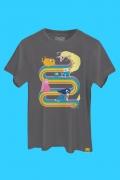 Camiseta Hora de Aventura Lady Íris Rainbow